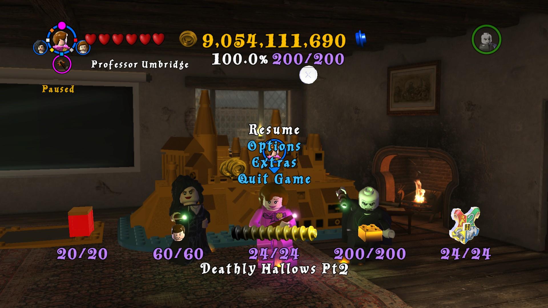 Steam Community Screenshot Lego Harry Potter Years 5 7 100