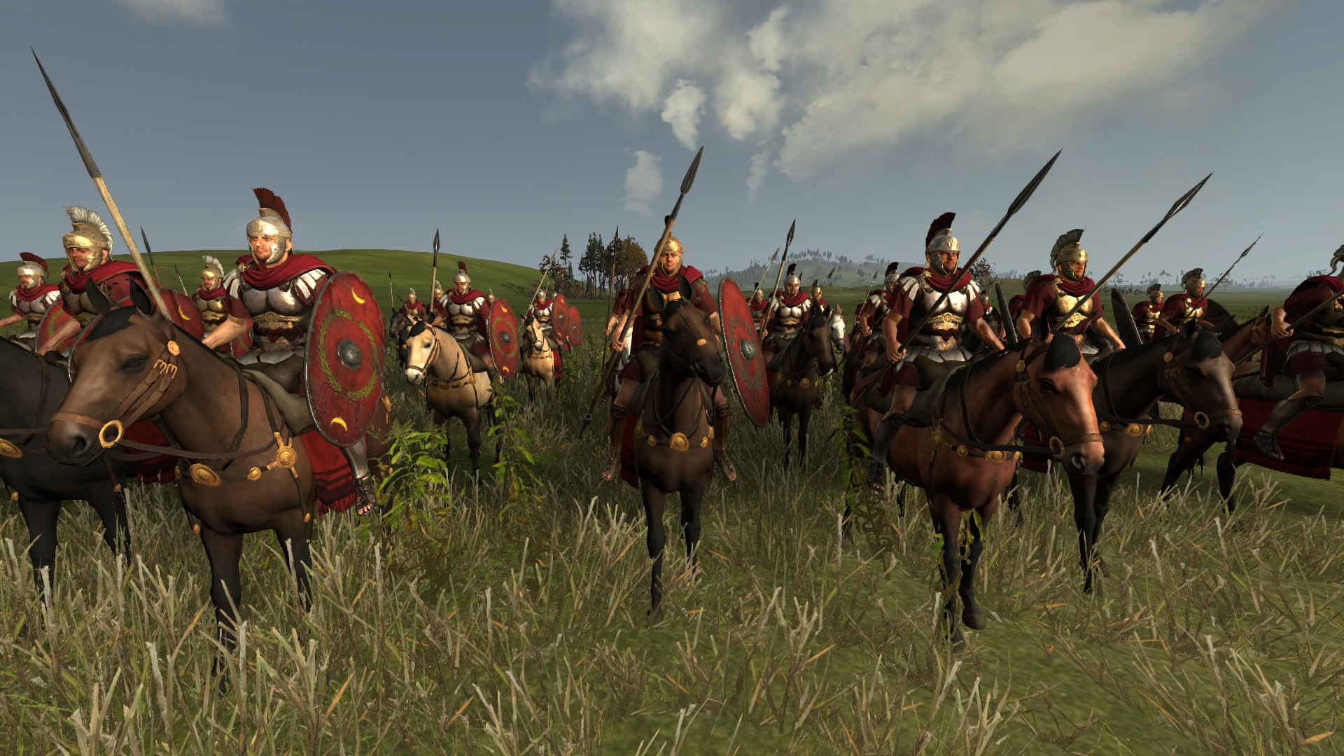Legatus with Musculata Armor & Reskined Campaign Generals