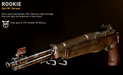cod ww2 epic weapons