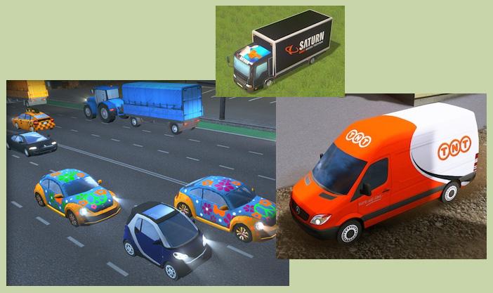 Steam Workshop Verkehr Traffic PKW LKW Bus Bahn Straßen