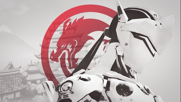 Steam Workshop Genji Nihon Skin Overwatch Wallpaper 4k