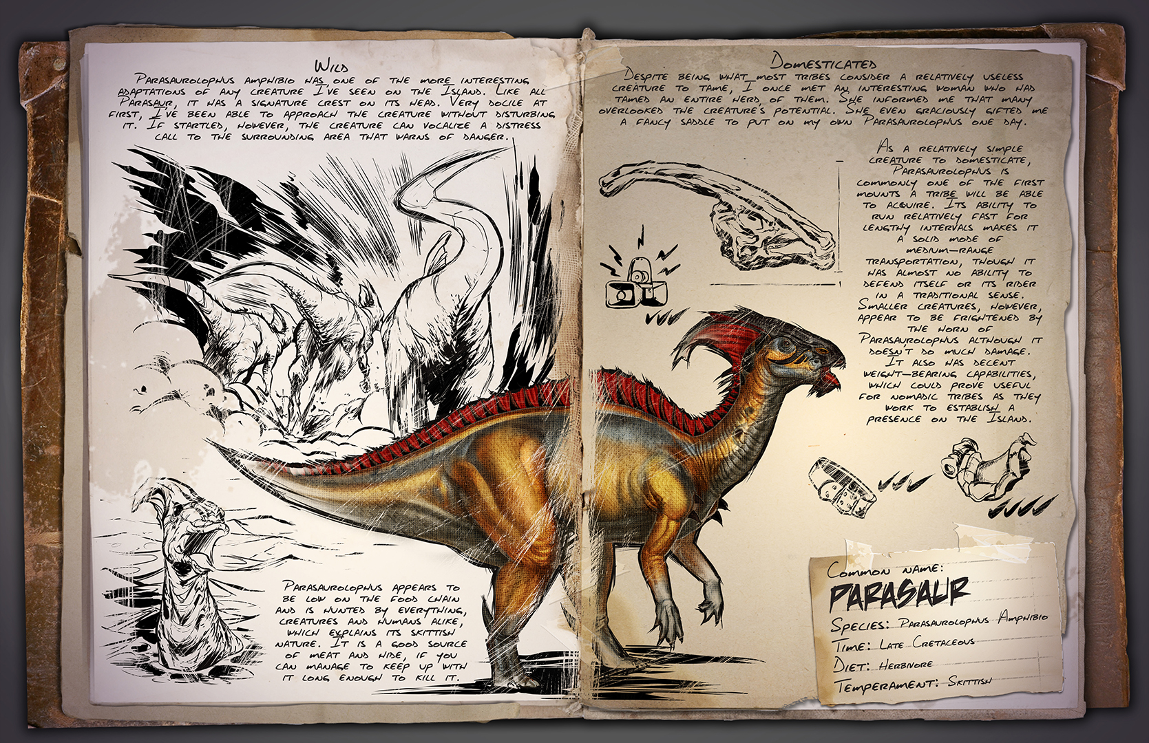 Steam community ark survival evolved dino tlc the parasaur malvernweather Gallery