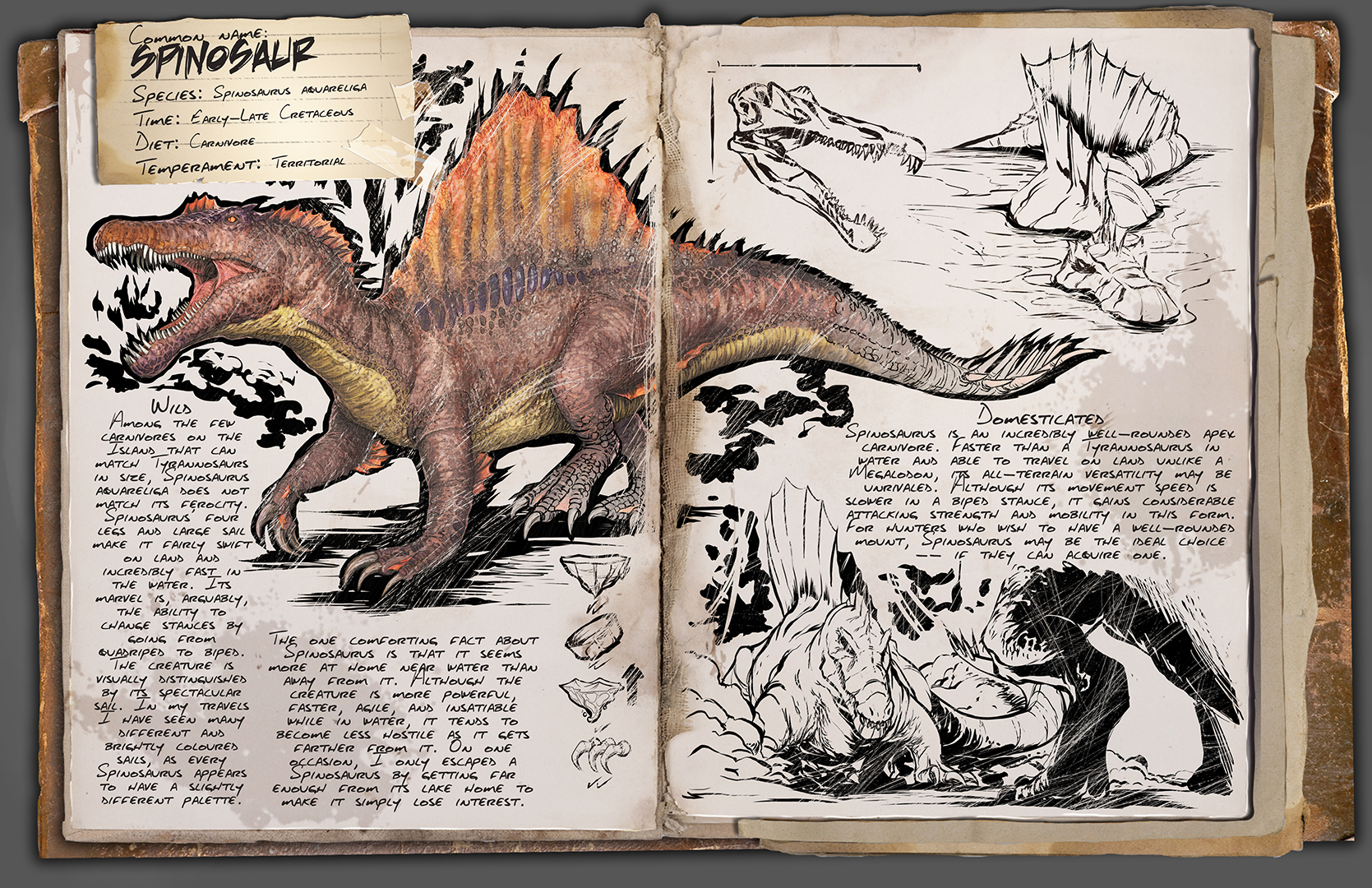 Steam community ark survival evolved dino tlc the spinosaur malvernweather Gallery