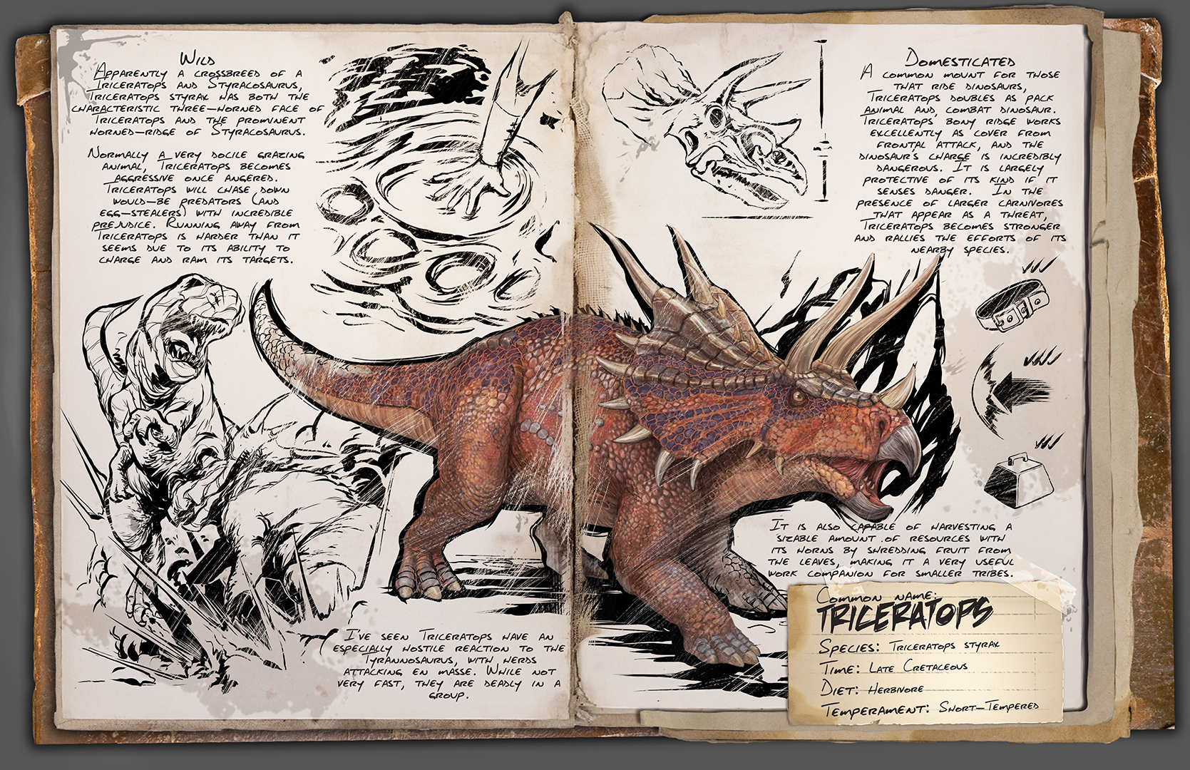 News steam community announcements dino tlc the triceratops receives a model update animation update texture update and some new abilities ram charge up for short period malvernweather Image collections