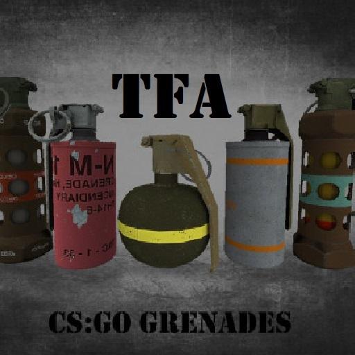 TFA CS:GO - Grenades/Utility Only Edition