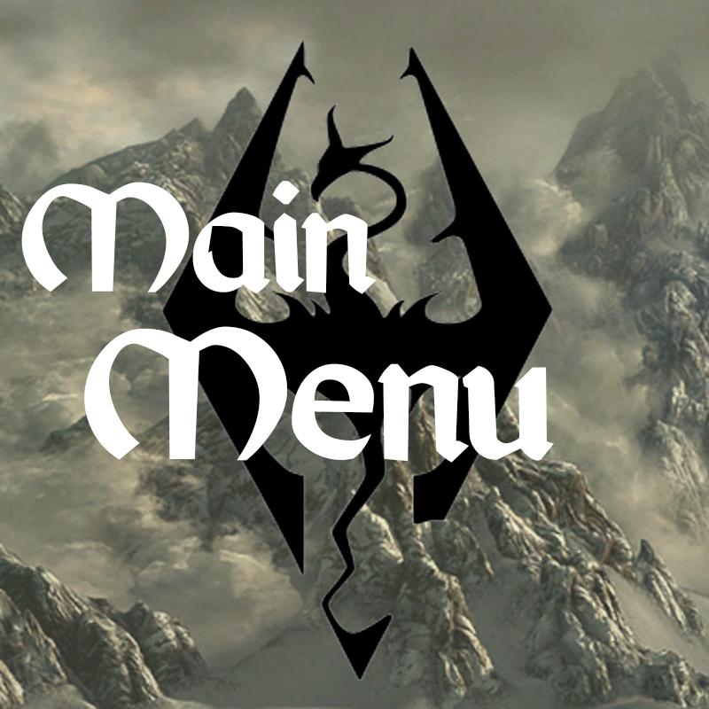 Main menu画像
