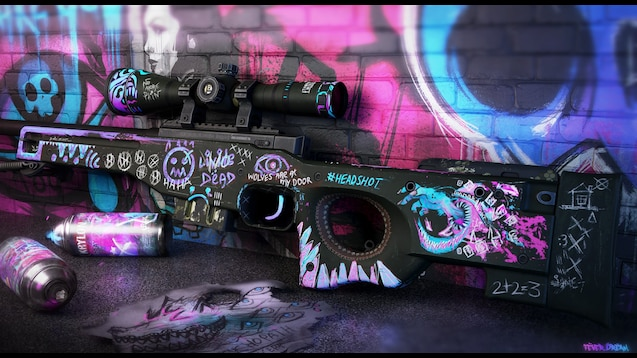 Steam Workshop 4k Csgo Apêls Awp Fever Dream