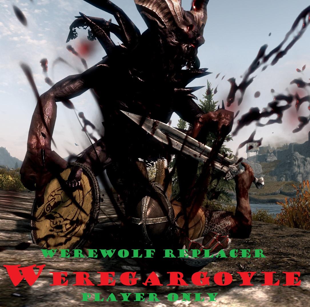 WereGargoyle -  Werewolf Replacer -  Player Only 1.0画像