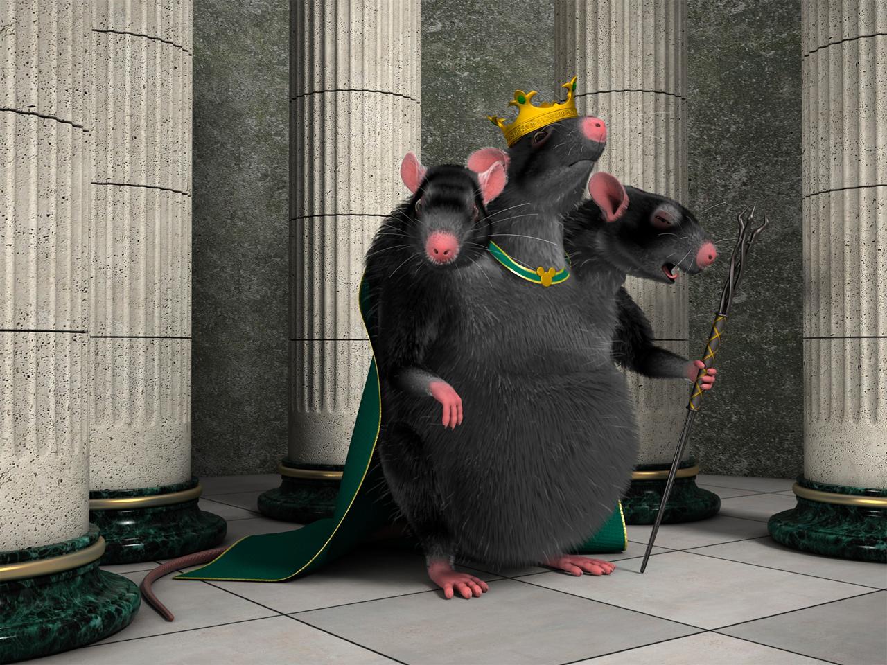 Виды крыс в PUBG