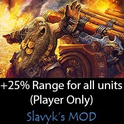 Steam Workshop 25 Increased Range For Ranged And Artillery Units Player Only Campaign Only