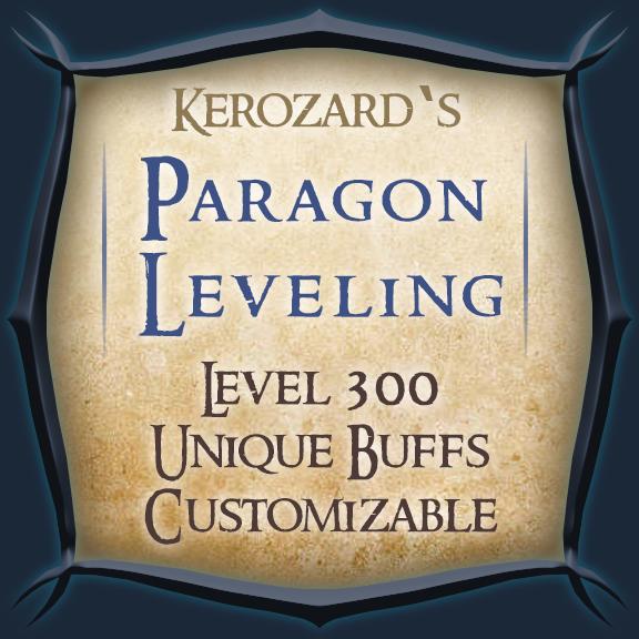Kerozard's Paragon Leveling