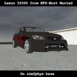 Steam Workshop :: [simfphys]Lexus IS300 / Toyota Altezza