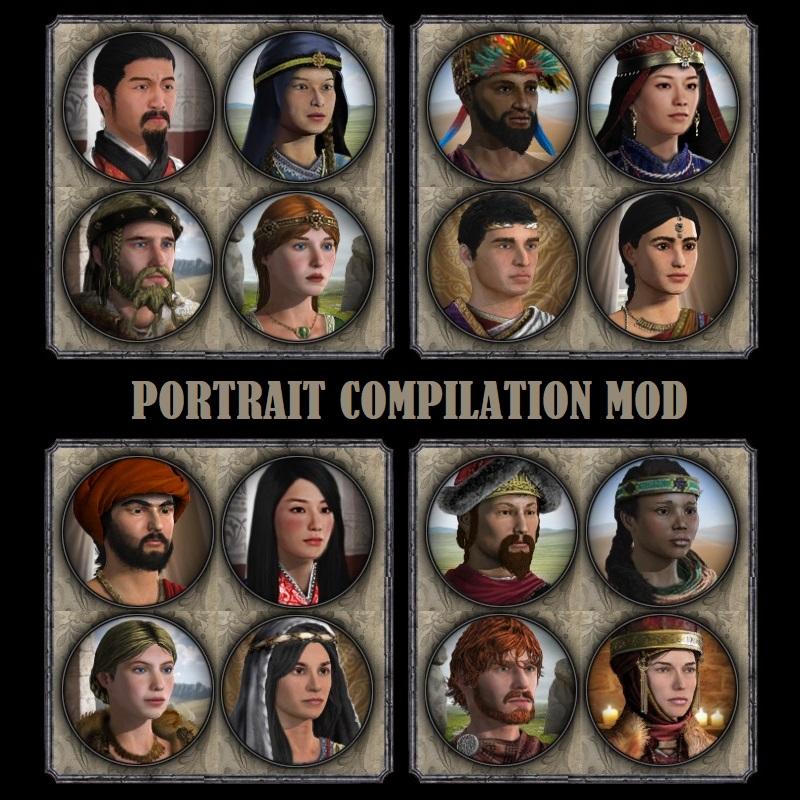 Portrait Compilation Mod