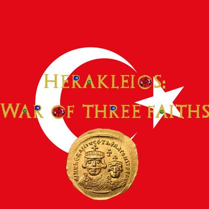 Herakleios: War of Three Faiths (Üç Dinin Savaşı) Türkçe Yama // İsimlerin gözükmemesi sorununa çözüm.