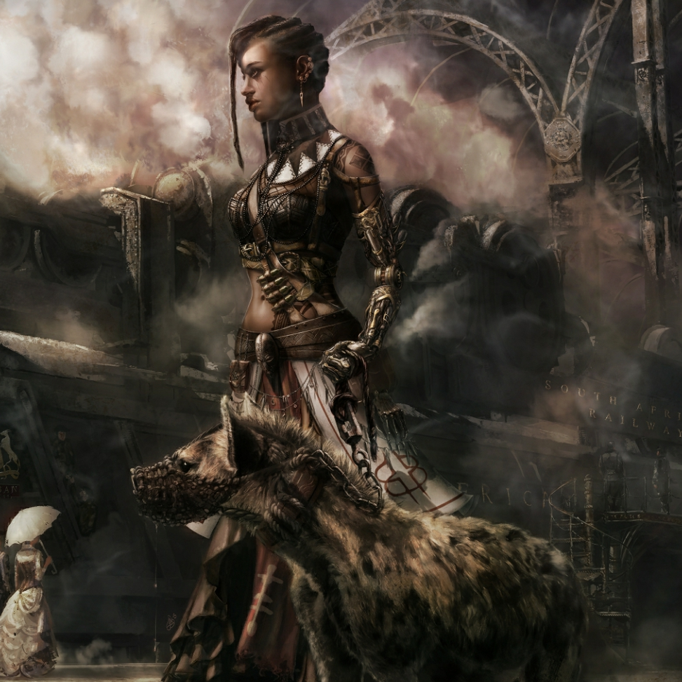 Steam Workshop Steampunk Female Witch Doctor Railroad