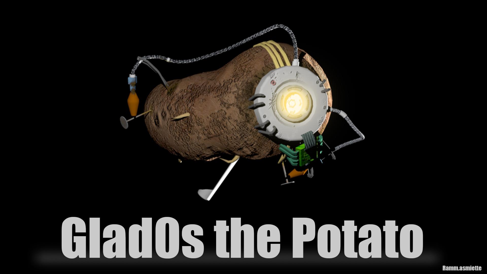 Steam Workshop Glados The Potato