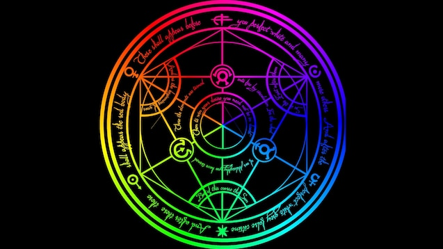 Steam Workshop Transmutation Circle Rgb Fullmetal Alchemist