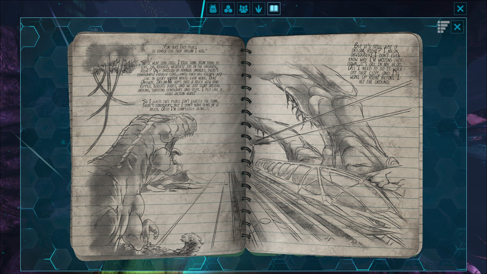 Image result for ark survival evolved Skye note