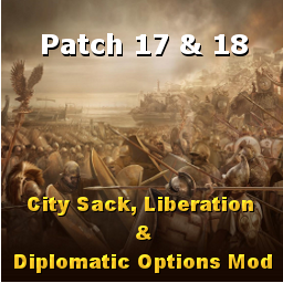 Dresden's Sack, Liberation & Diplomatic Options Mod Patch 17 & 18
