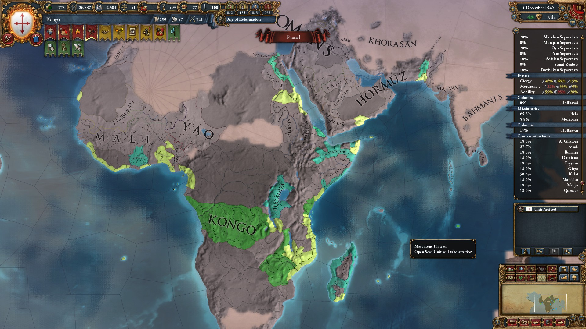 African Power Achievement Run - Good Start : eu4