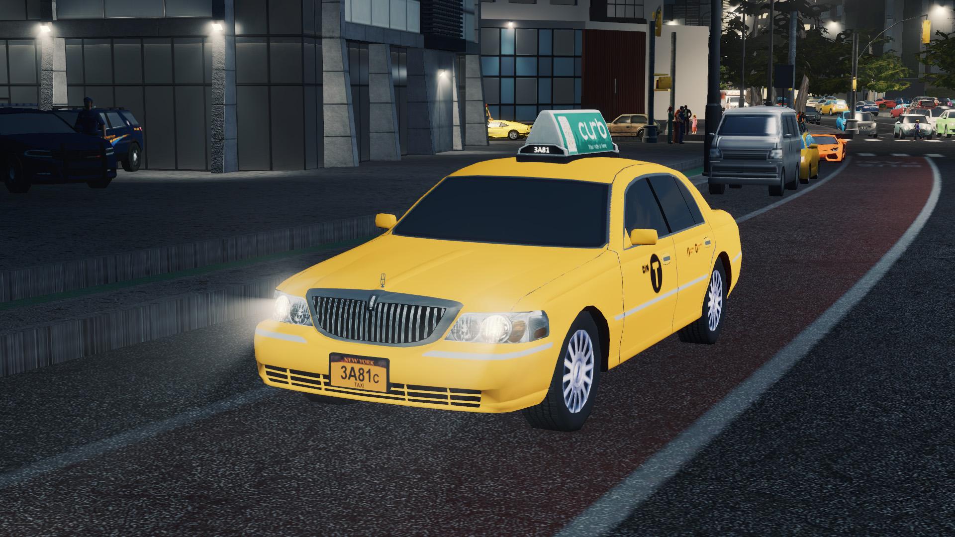 Steam Workshop 2011 Town Car Taxi