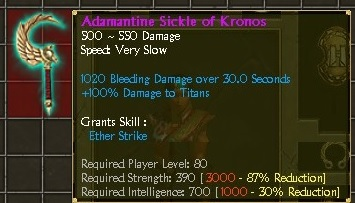 Steam Community :: Guide :: Adrakh's Sickle of Kronos Build
