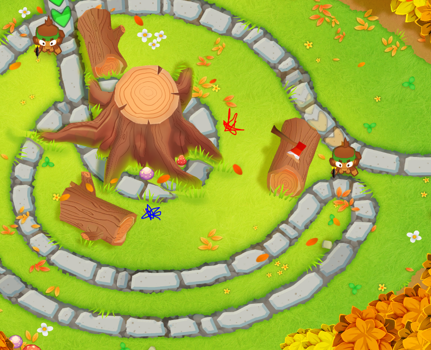 Steam Community :: Guide :: dart monkey positioning and