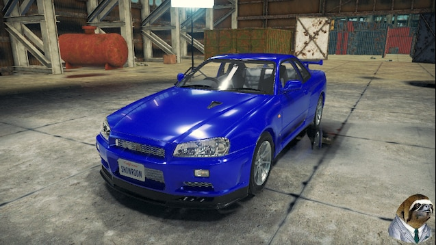Steam Workshop :: Nissan Skyline GT-R (R34)