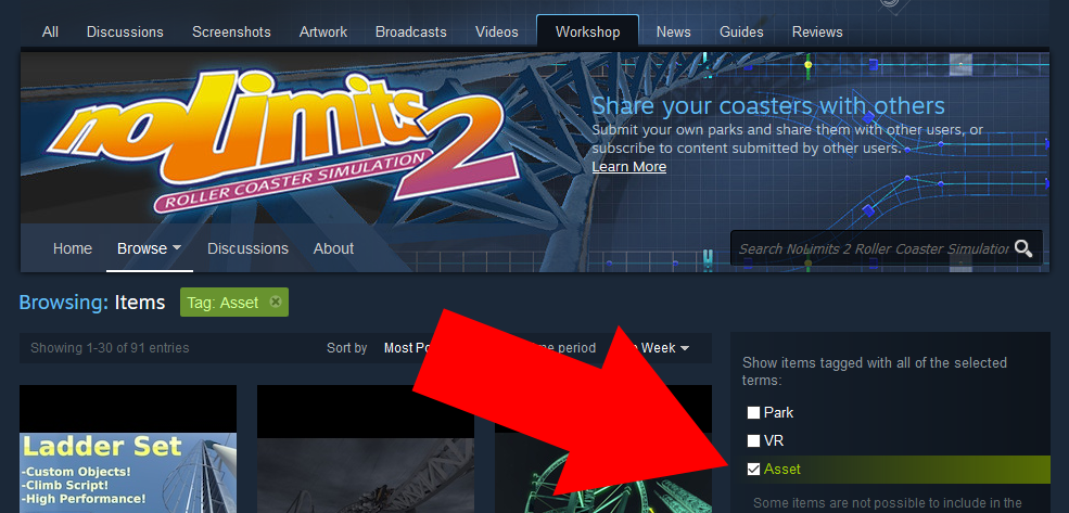 Steam Community :: Guide :: How to Install DLCs from the Workshop?