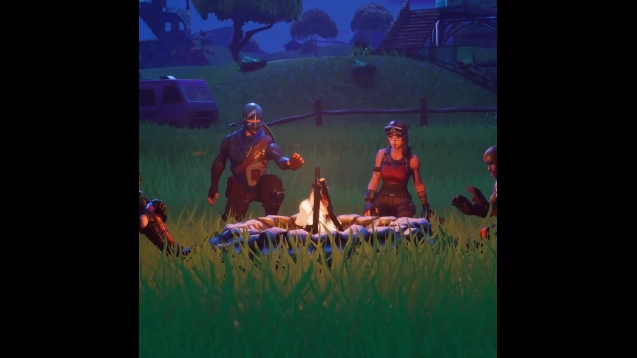 Steam Workshop Fortnite Cozy Campfire