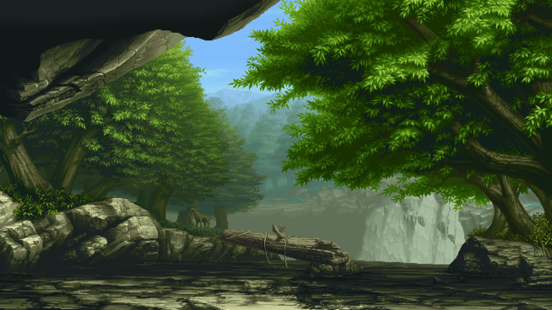 Steam Workshop Wallpaper Engine Pixel Art