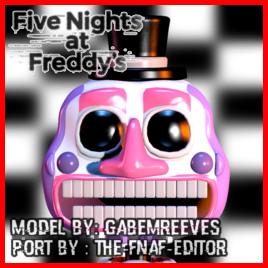 Steam Workshop Ffpsfnaf6 Music Man V1 Model By Gabemreeve