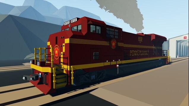 Steam Workshop :: NS ES44AC Heritage (Pennsylvania Railroad)