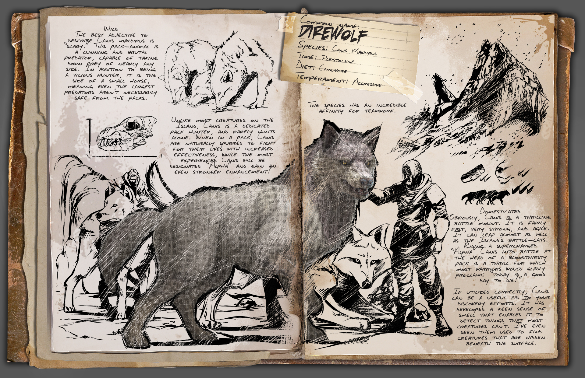 Steam community ark survival evolved dino tlc the direwolf malvernweather