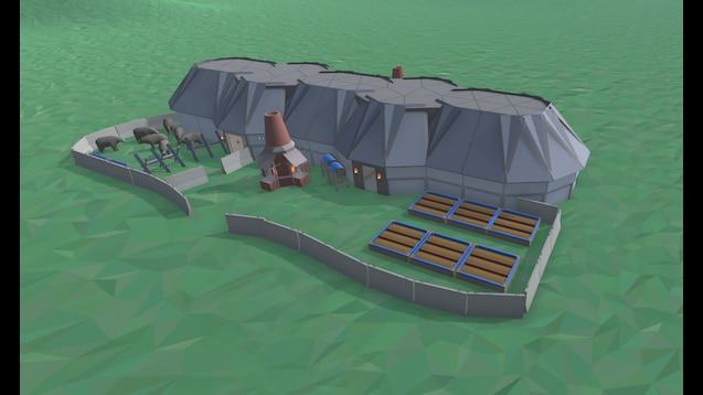 Steam Workshop Viking Longhouse