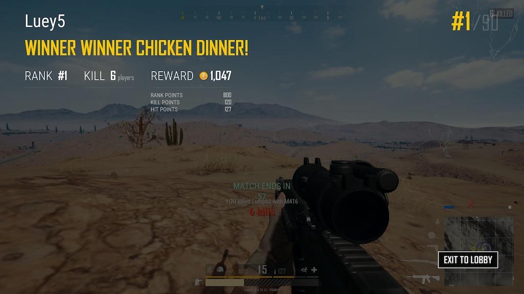 3f83e2e44267 Steam Community :: :: WINNER WINNER CHICKEN DINNER