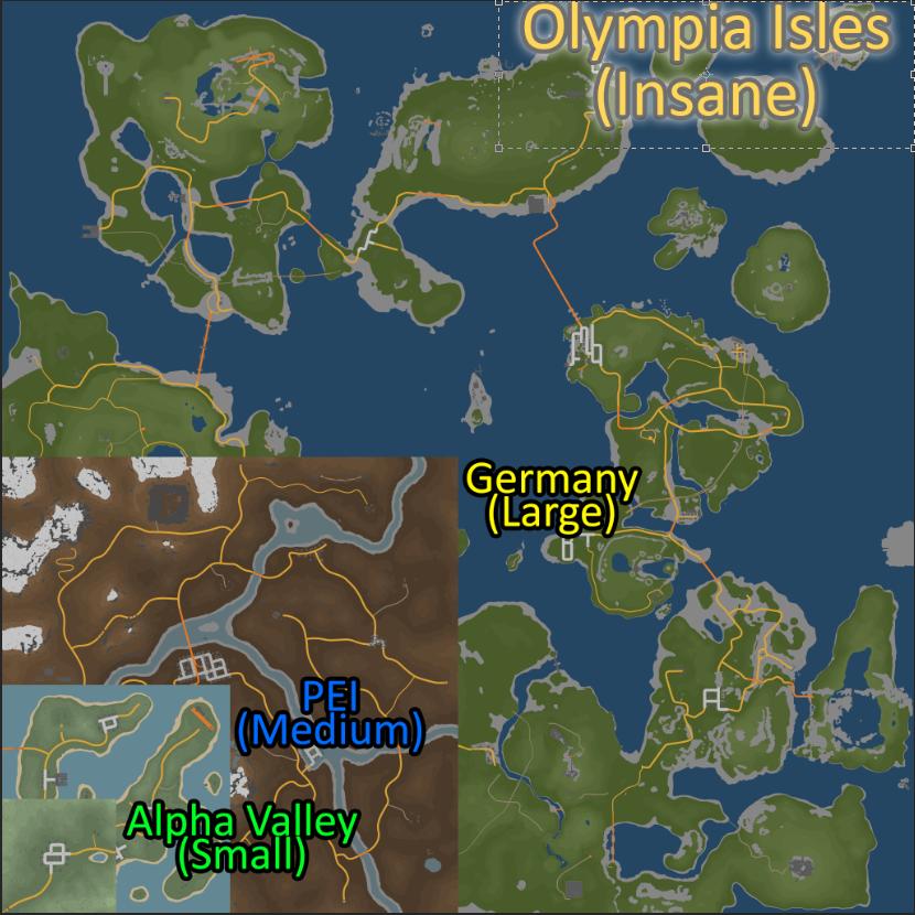 1nsane map