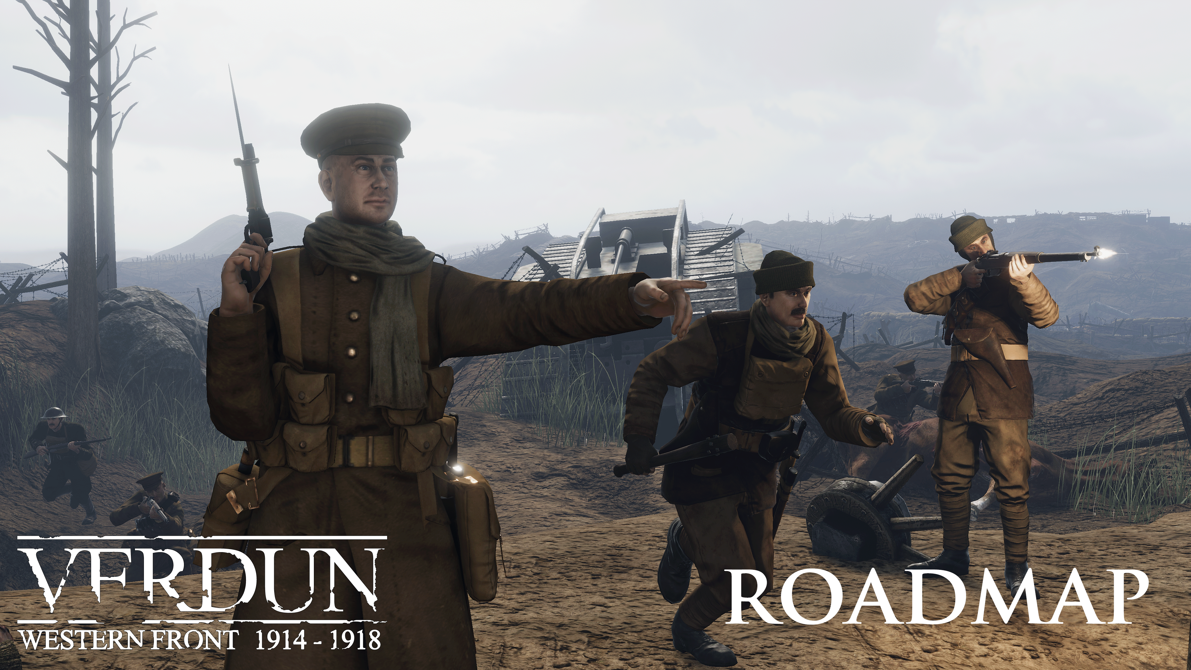 Verdun on steam as announced previously our focus has been on improving performance and polishing the game but that isnt all thats in the pipeline for verdun publicscrutiny Choice Image