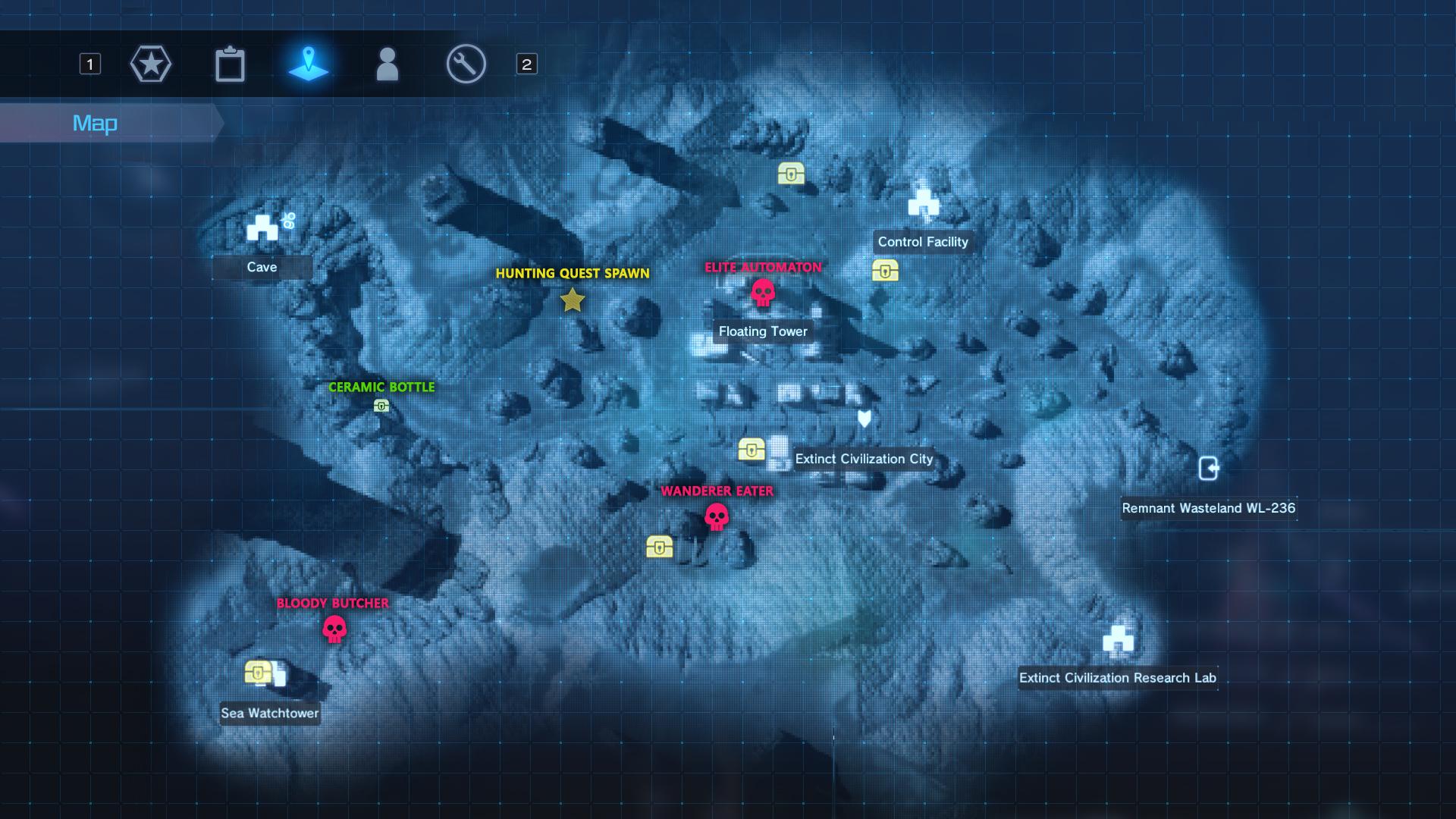 Steam Community Guide Maps Of Ggo