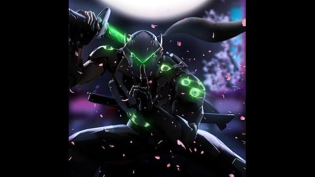 Overwatch Genji (wallpaper)(4k,full hd