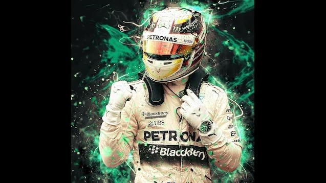 Steam Workshop 4k Lewis Hamilton Abstract Art Formula 1 F1 Besthqwallpapers