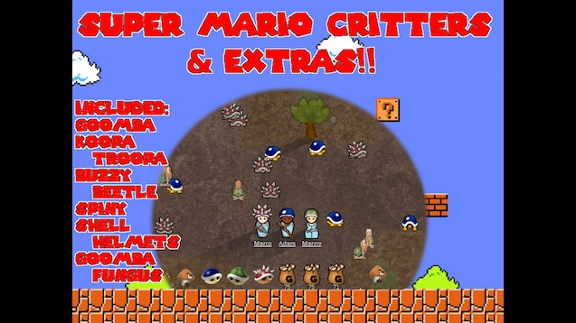 Steam Workshop :: Super Mario Animals and Extras