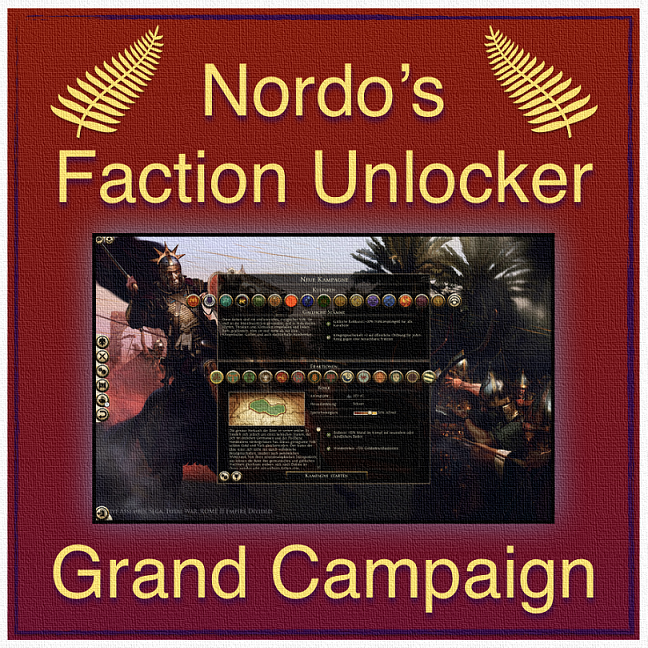 Nordo's Faction Unlocker (All factions playable)