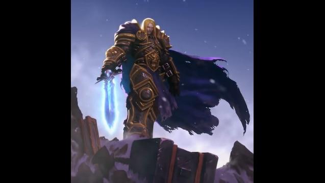 Steam Workshop :: Warcraft 3: Reforged Arthas Wallpaper