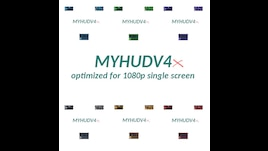 Steam Workshop :: MyHudV4X - 1080P Optimized - Simple, Powerful