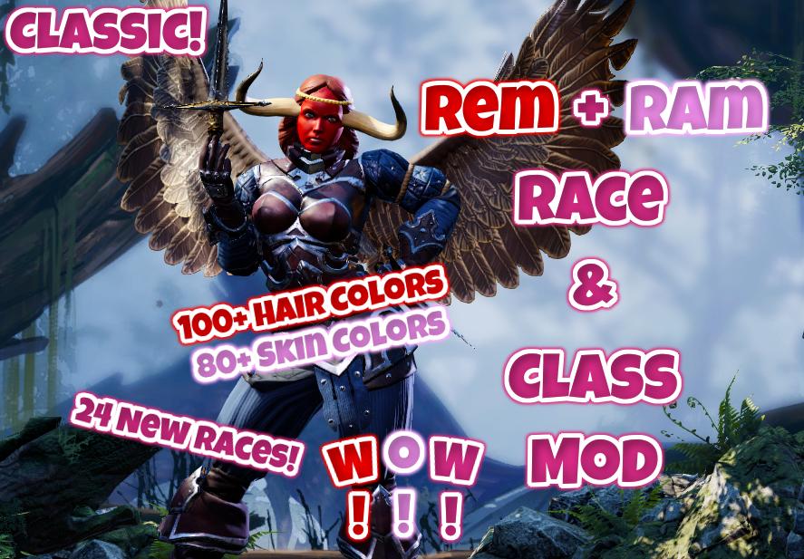 Steam Workshop :: Rem+Ram's Race and Class Mod (Classic)