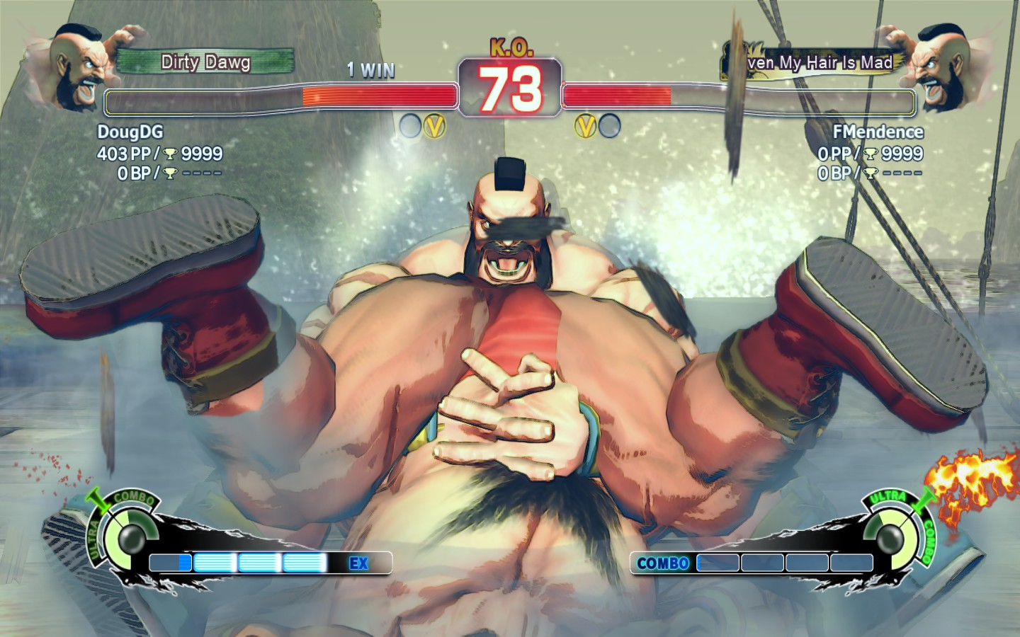 Nude street fighter characters