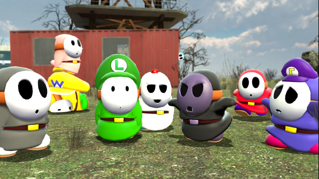Steam workshop super mario ragdolls pack ccuart Image collections