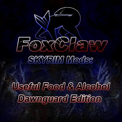 FoxClaw's Useful Food & Alcohol / Dawnguard Edition画像