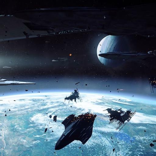 Steam Workshop Star Wars Battlefront Ii Death Star Space Battle Live No Sound 1080p 60fps